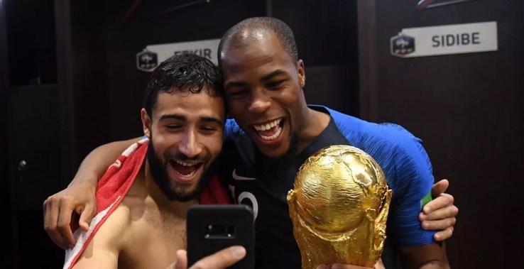 Image result for nabil fekir world cup trophy