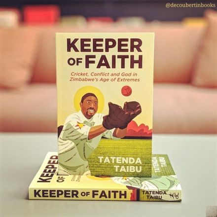 Tatenda Taibu's autobiography, Keeper of Faith.
