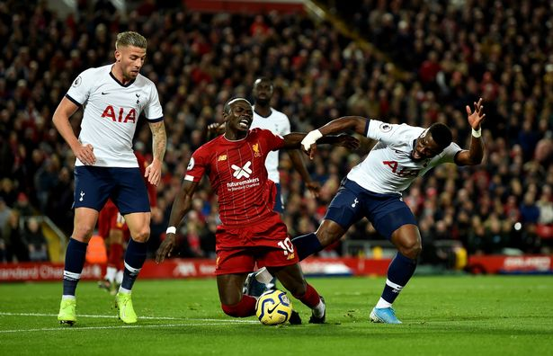 Sadio Mane makes penalty claim and sends title message after Liverpool beat Spurs - Liverpool Echo