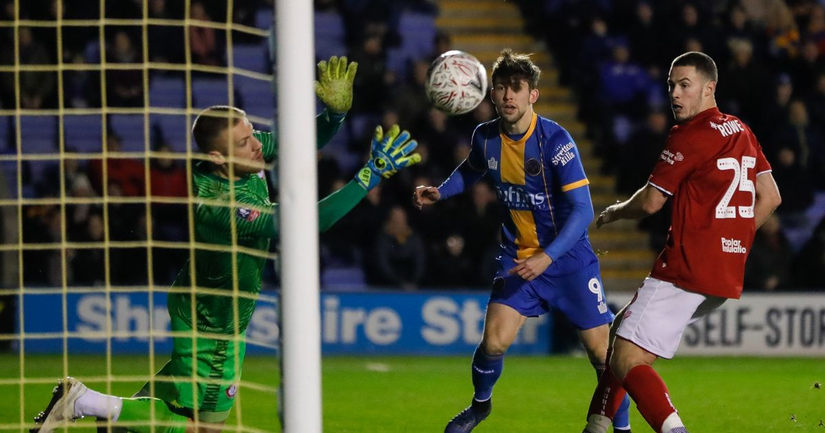The Shrewsbury striker did not want to face Liverpool, but is now very much taken with revenge
