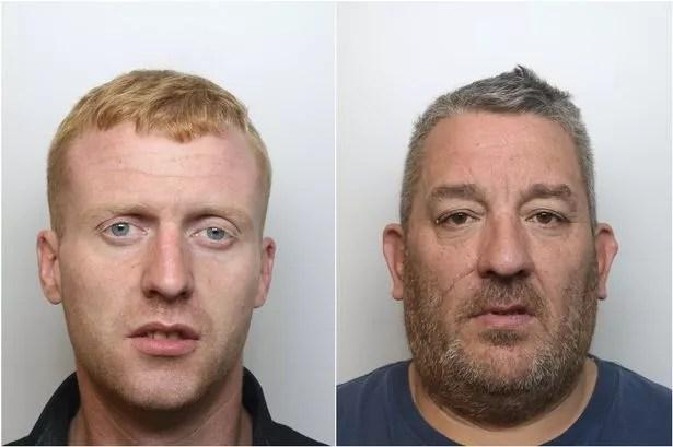 Simon Leech, 29, of Brindley Avenue, Latchford, Warrington, and Brian McQuillan, 51, of Buttermarket Street, Warrington.