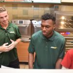 Lfc Stars Visit Subway And Dunkin Donuts On Lfc Pre Season Tour To Boston Usa Pics Jason Roberts Liverpool Echo