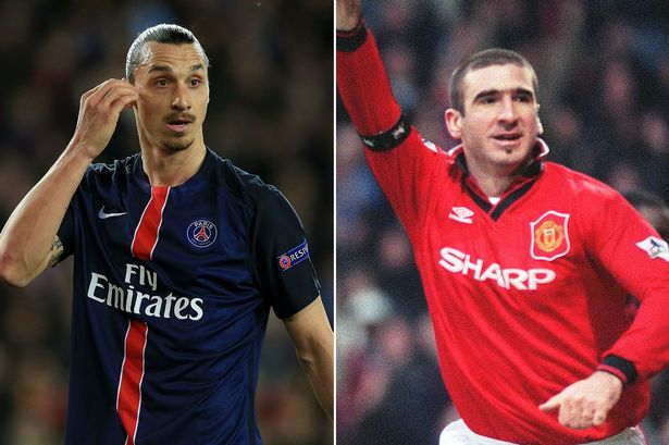 Eric cantona, right, and roy keane have been. Ibrahimovic Can Be Mourinho S Cantona Manchester United Legend Keane Sees Likenesses In The Pair Manchester Evening News