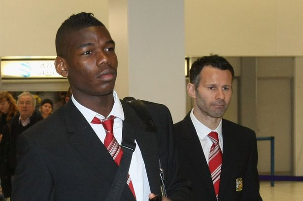 Image result for Giggs vs pogba""