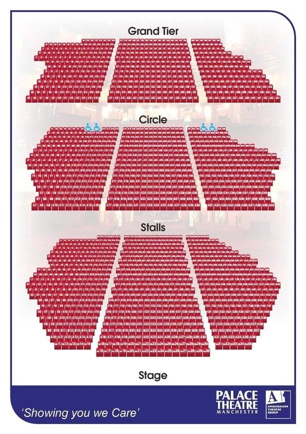 Apollo Victoria Theatre Seating Plan Band G Brokeasshome Com
