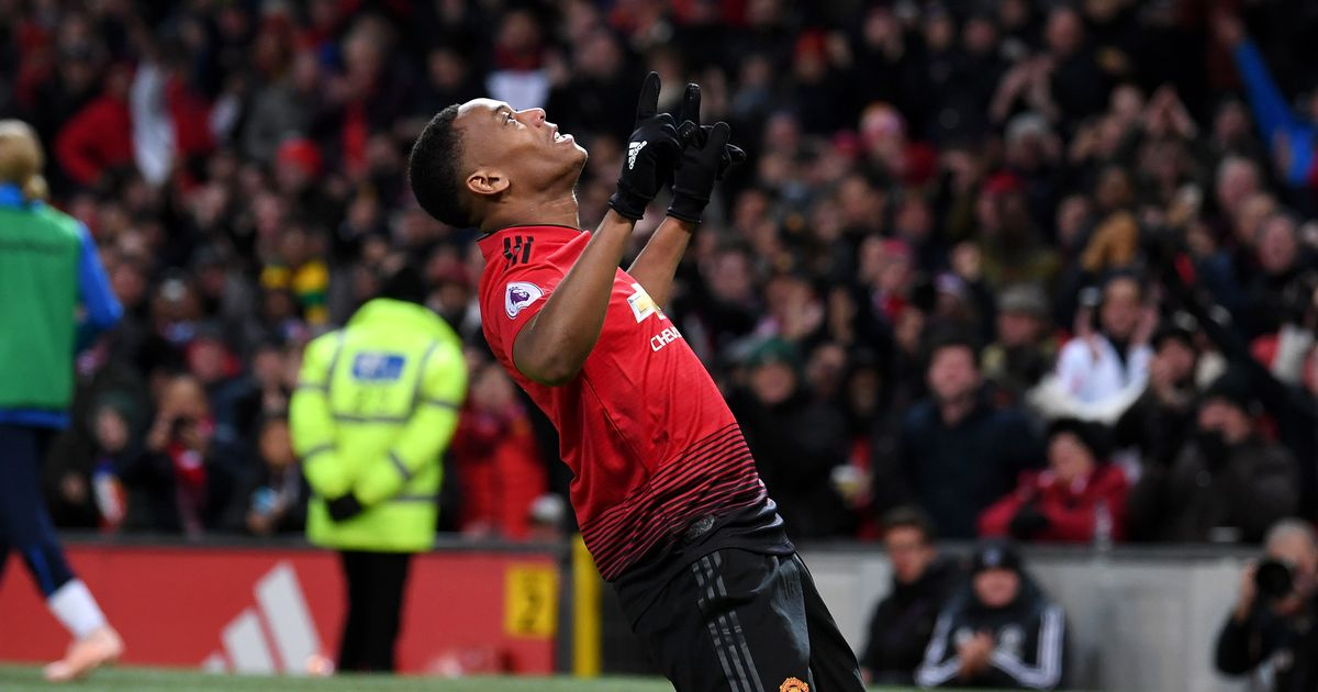 Manchester United Vs Everton Highlights And Score Mourinhos Team Win   Through Pogba And Martial Manchester Evening News