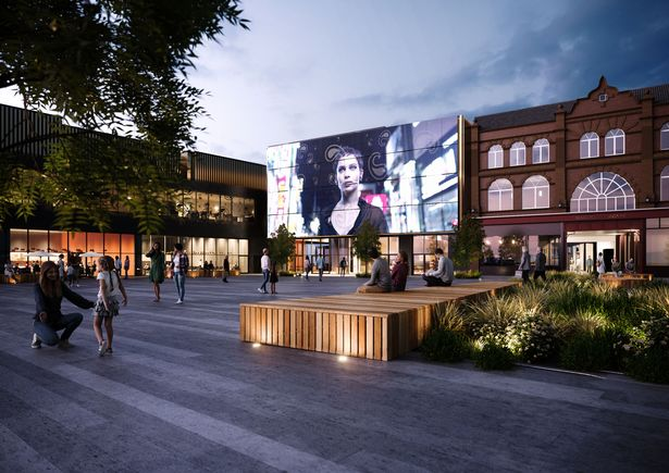 Planned renovation of Galleries Shopping Center in Wagon