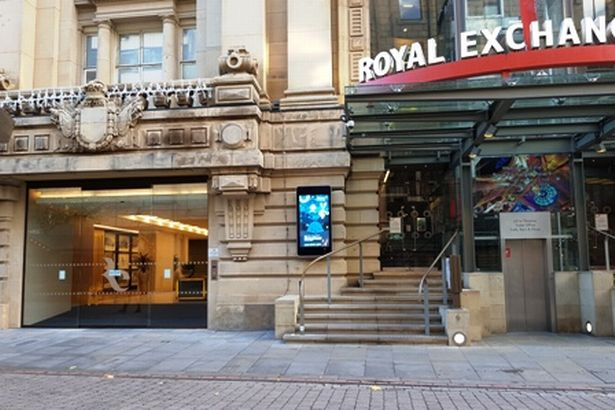 Photo courtesy of the Manchester Coroners Court by the Royal Exchange Theater.