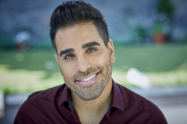 Dr. Ranj Singh in a publicity photo for Notebook magazine