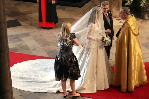 Kate Middleton and Sarah Burton