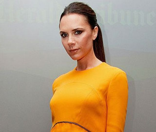 Victoria Beckham Has Let Slip To Vogue Magazine Shes Had Her Dd Breast Implants Removed No Torpedo Bazookas Either Gone