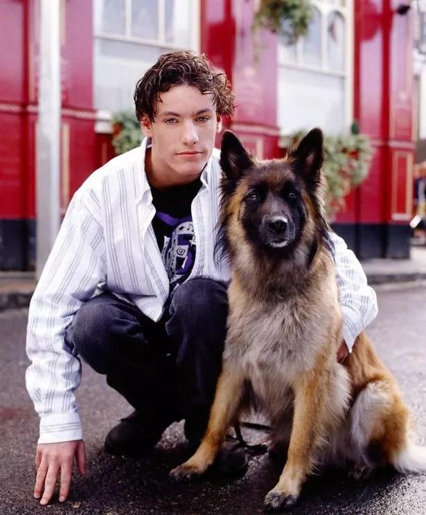 Dean played Robbie Jackson on EastEnders