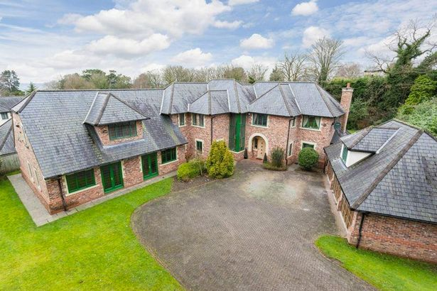 Dwight Yorke Puts Six Bedroom Cheshire Mansion He Shared