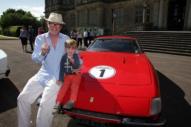 DJ Chris Evans Splashes Out 5m On F1 Supremo Eddie Jordan