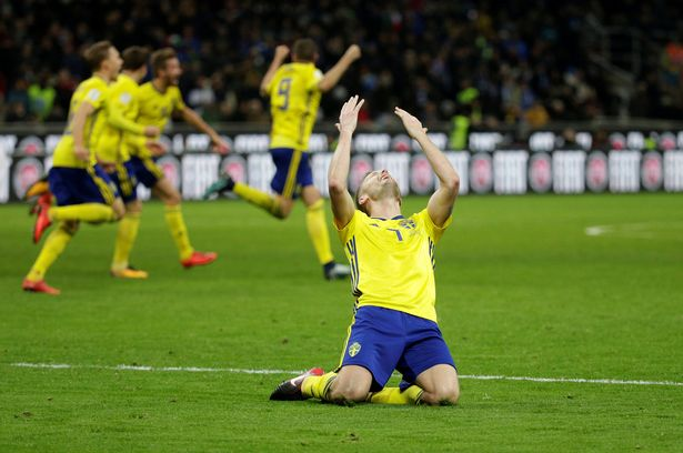 Image result for italy sweden wc 2018