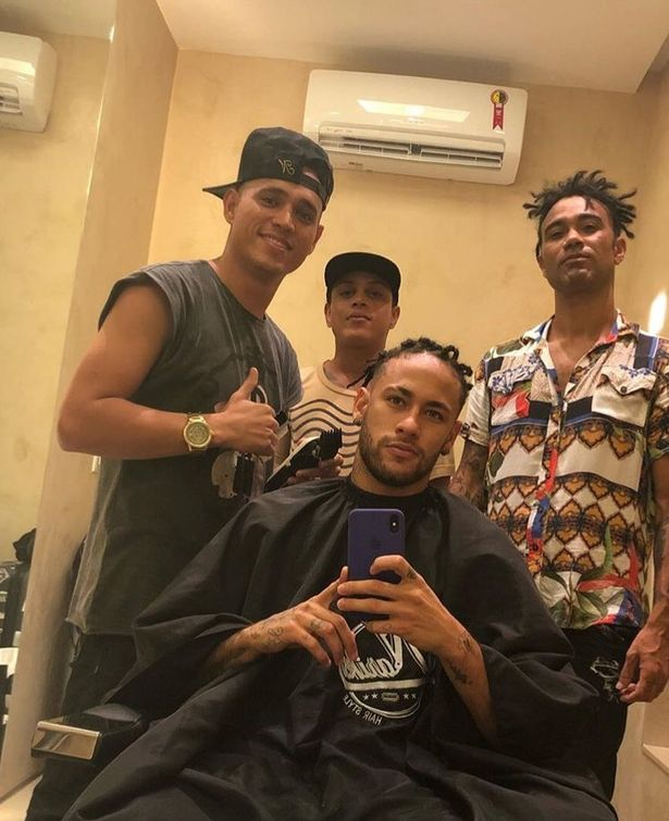 Neymar Reveals Crazy New Haircut While He Recovers From