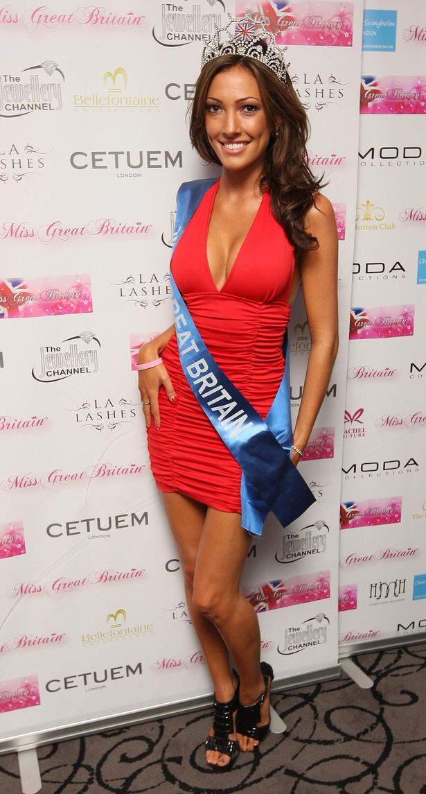 Sophie Gradon as Miss Great Britain in 2009 (Image: PA)