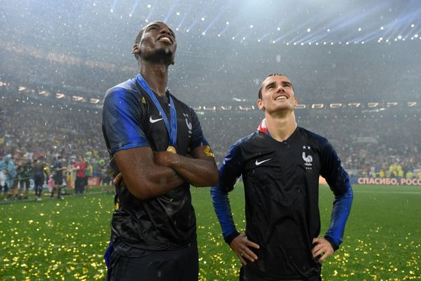manchester united in negotiations to sign star striker for £107million MANCHESTER UNITED IN NEGOTIATIONS TO SIGN STAR STRIKER FOR £107MILLION 0 France v Croatia 2018 FIFA World Cup Russia Final