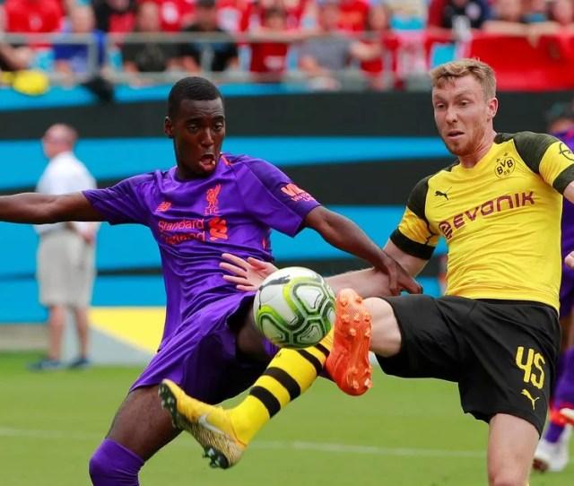 Liverpool   Borussia Dortmund Report Virgil Van Dijk Opens Scoring Before Christian Pulisic Double Downs Reds Mirror Online