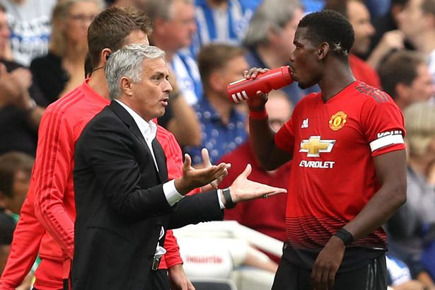 Image result for Pogba will never captain Manchester United again – Jose Mourinho