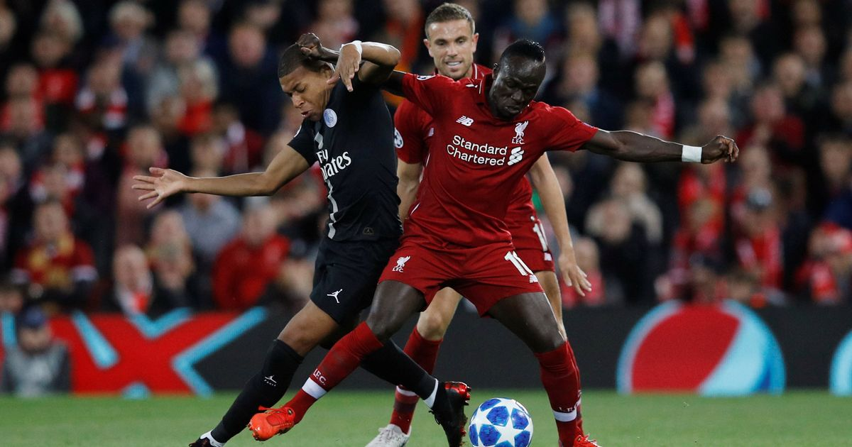 Kylian Mbappe names Liverpool among his four favorites to win the Champions League