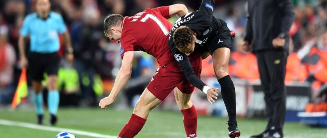 Image result for liverpool psg milner