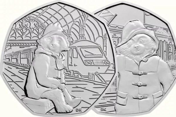 paddington bear 50p coins # 1