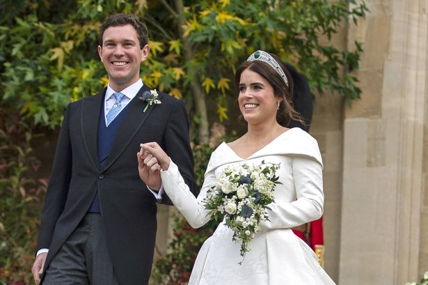 Princess Eugenie's Dad Shares New Photos From Inside Her