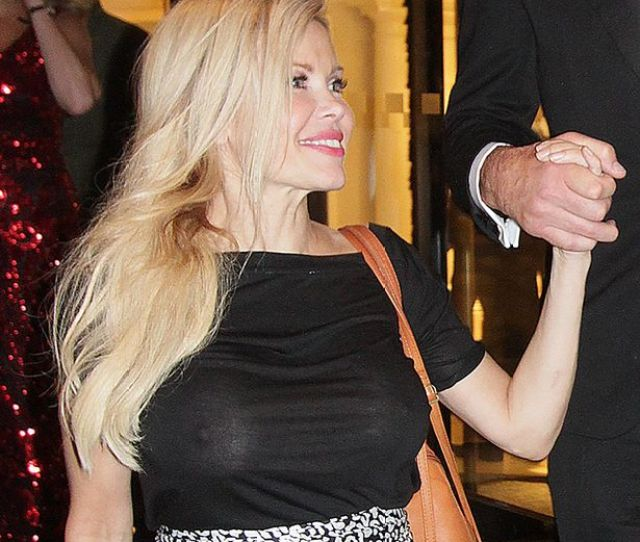 Melinda Messenger Goes Braless At Charity Ball And Reveals Everything Mirror Online