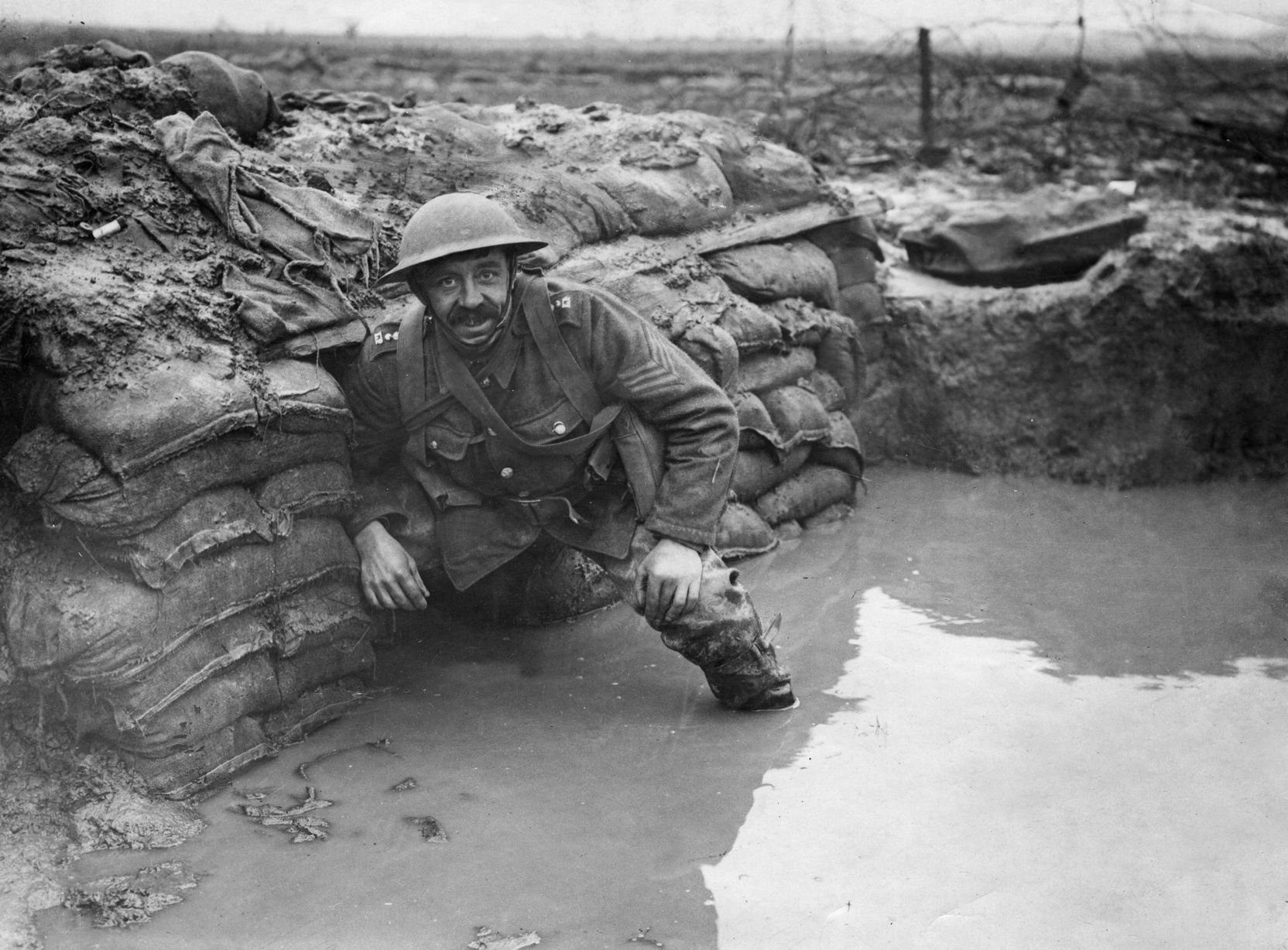 Ww1 Pictures Powerful Images Show Full Horror Of Life In