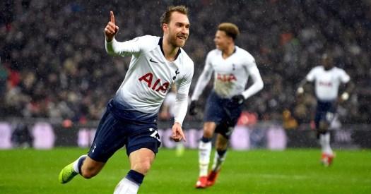 Tottenham 1-0 Burnley: Christian Eriksen strikes late to ...