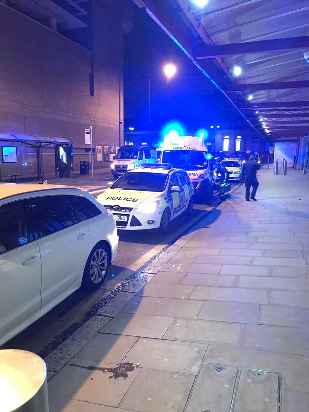 Senior officers are treating the incident as a 'terror investigation'