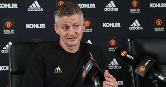 Man Utd press conference LIVE: Ole Gunnar Solskjaer on Fulham team ...