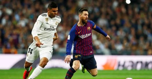 Real Madrid 0-3 Barcelona: Luis Suarez inspires convincing ...