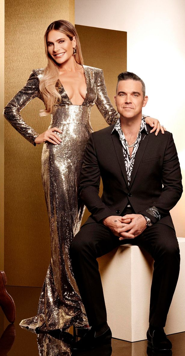 Robbie and Ayda have quit X Factor (Image: Thames/Syco)