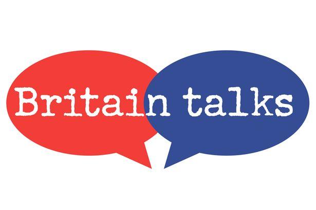 Britain Talks logo