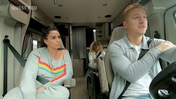 Katie Price made a crude joke in front of her mum Amy in My Crazy Life