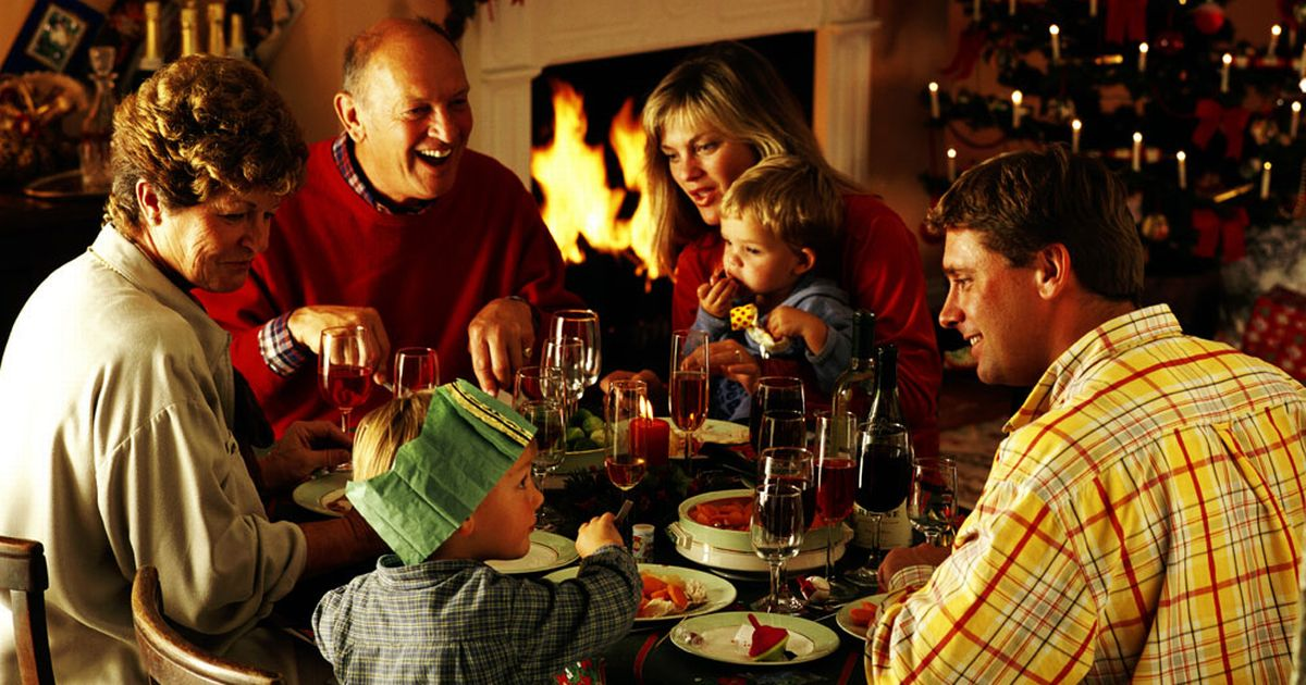 Christmas Day The Average British Family Will Have First