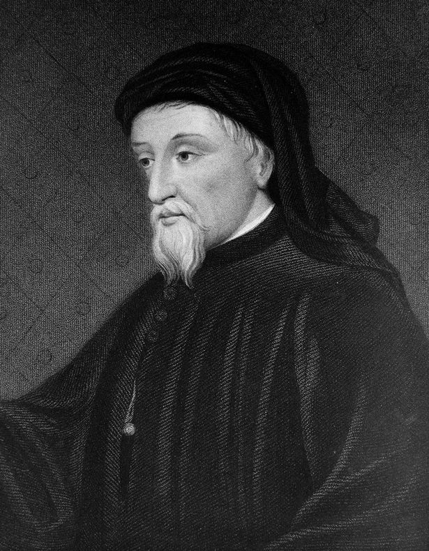 Geoffrey Chaucer might not look it but he's Mr Lover Man, sort of