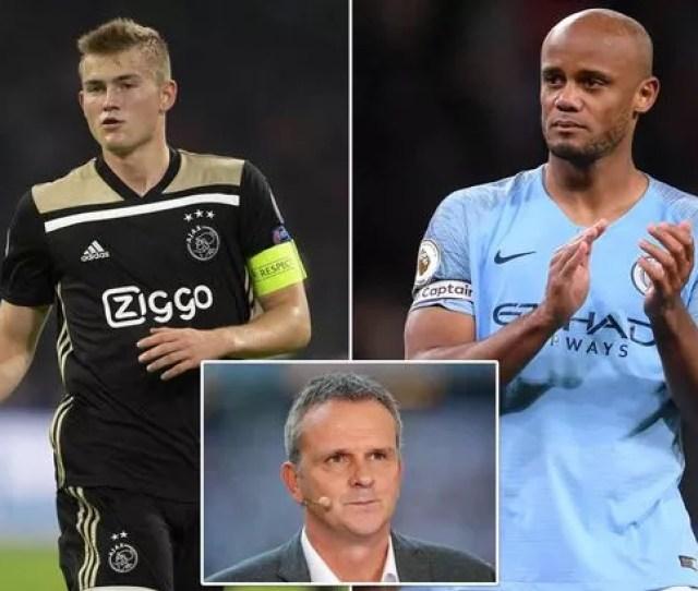 Matthijs De Ligtmatthijs De Ligt Transfer Man City Urged To Replace Vincent Kompany With Ajax Star