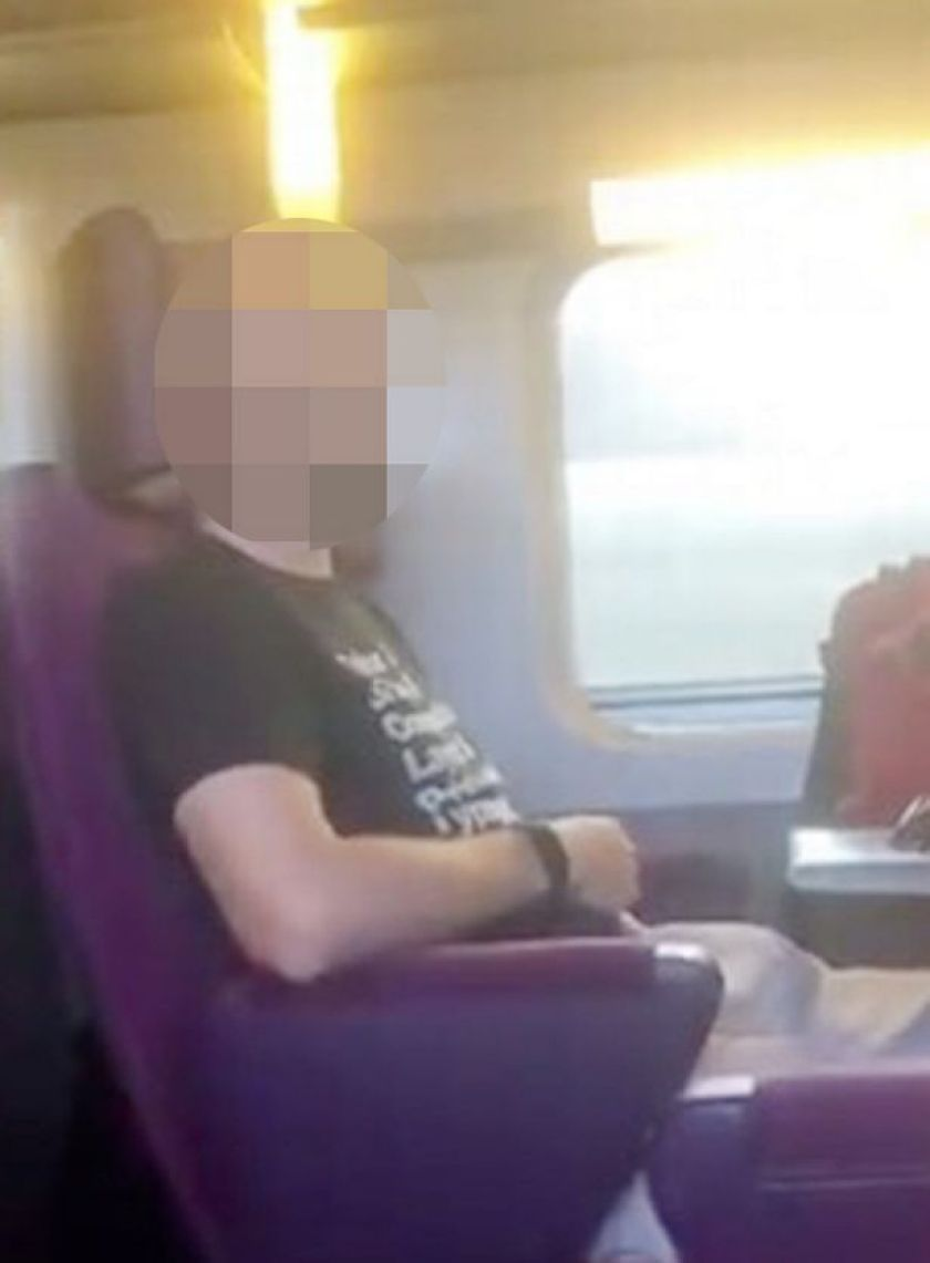 Woman films man performing sex act on train and now could face worse  punishment - Mirror Online