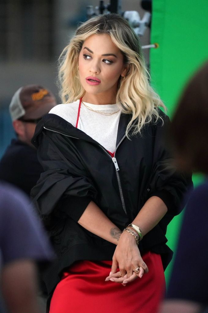 11 pictures from rita ora's rimmel london advert shoot by