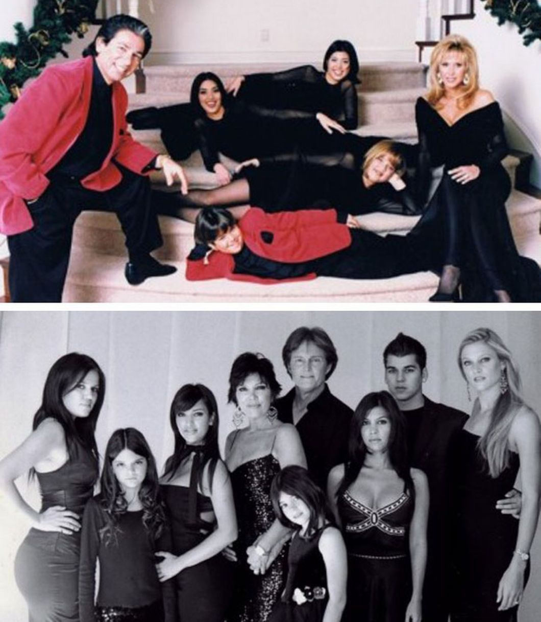 Kardashian Christmas Cards Through The Years | Creativeletter.co