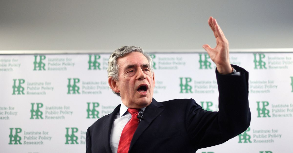 """Moving House of Lords to York is just a """"cosmetic gesture,"""" says Gordon Brown"""