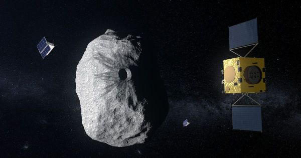 NASA and European Space Agency team up on mission to stop ...