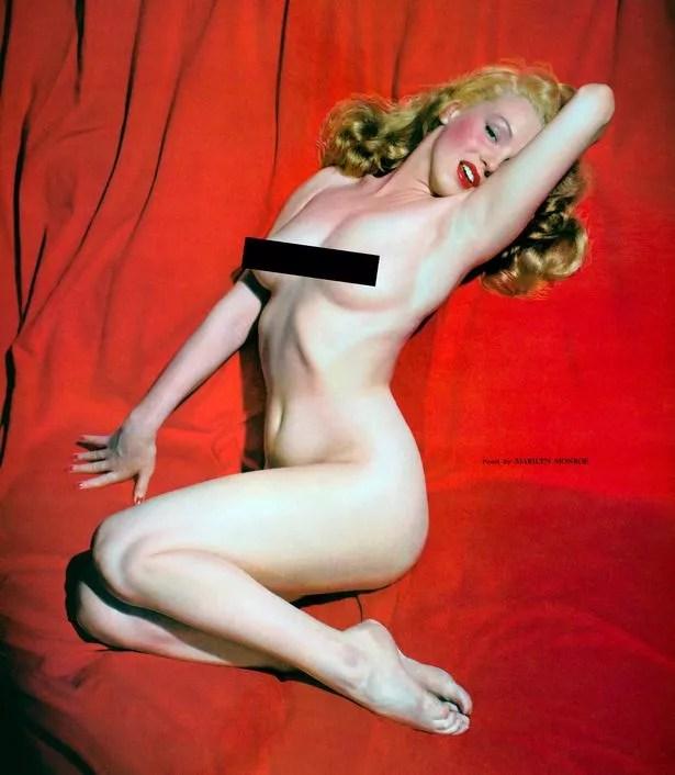 0 PAY Marilyn Monroes first pin up featured in new Calendar girls book featuring goddesses of the 50s - La primera sesión de fotos nunca antes vista de Marilyn Monroe desnuda (Sensacional)