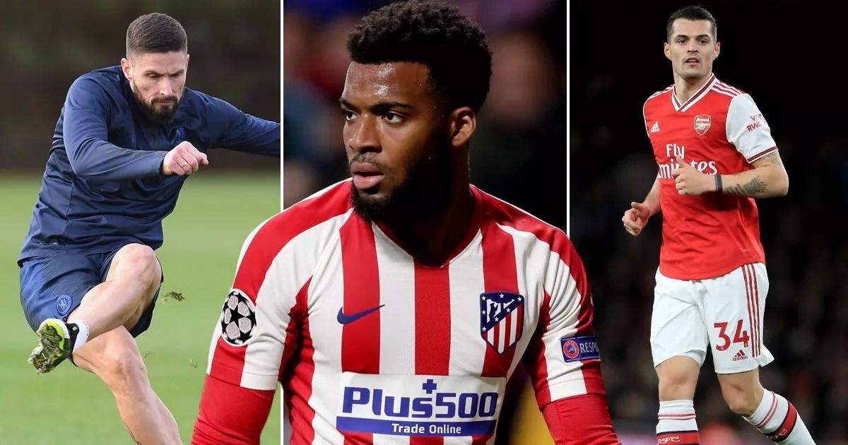 LIVE transfer news: Liverpool, Arsenal and Man Utd, plus Granit Xhaka gossip