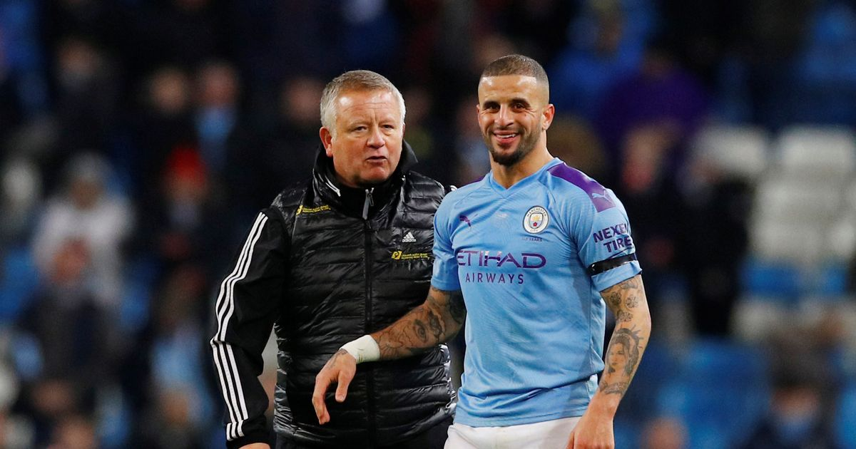 Kyle Walker offered to transfer to Sheffield United when he leaves Man City