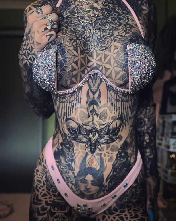 0 PAY I wanted to stop hating myself Tattoo obsessive who spent $40k on ink found happiness when her e