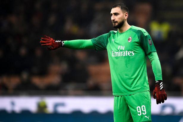 Chelsea target Milanese goalkeeper Gianluigi Donnarumma